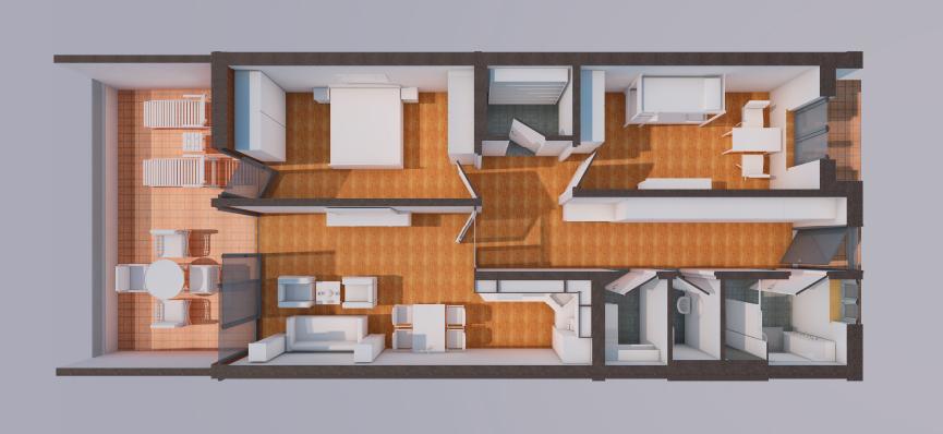 Wohnen am Mettenbach - 3 Zimmer Grundriss